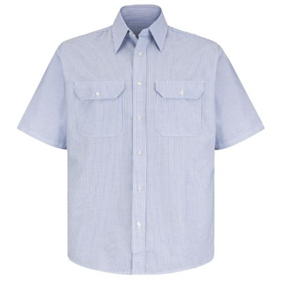 Red Kap Short Sleeve Deluxe Uniform Shirt