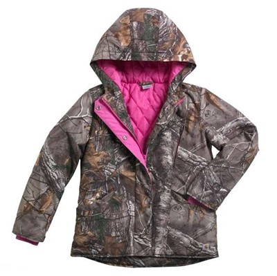 Carhartt Girls Camo Mountain View Jacket