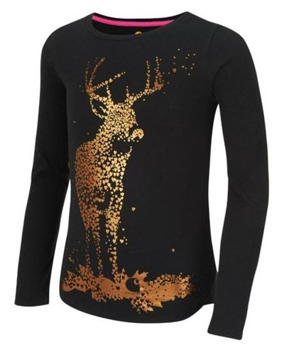 Carhartt Girls Foil Deer T-Shirt