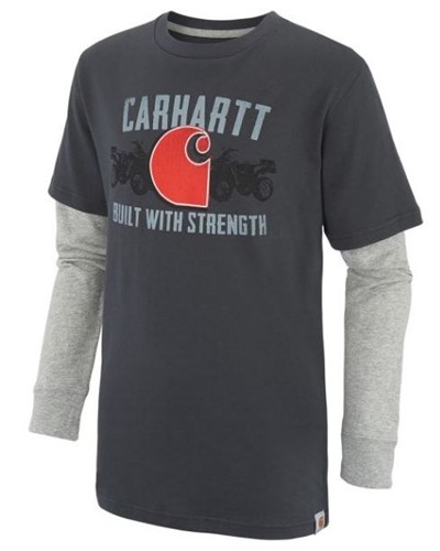 Carhartt Boys Built With Strength Layered T-Shirt