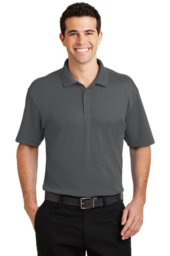 Port Authority Silk Touch Interlock Performance Polo
