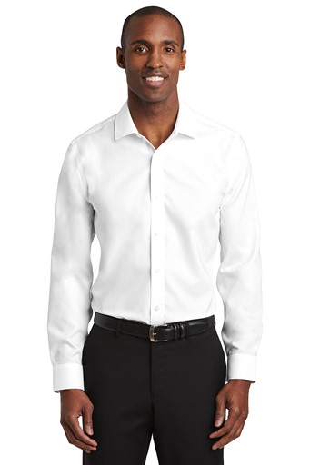 Red House Slim Fit Pinpoint Oxford Non-Iron Shirt