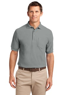 Port Authority® Silk Touch™ Polo with Pocket